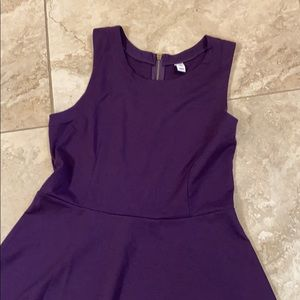 Old Navy Fit and Flare Ponte Knit Dress
